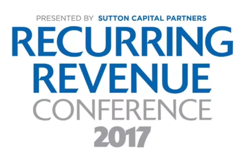 Catalyst180 will be speaking at Recurring Revenue Conference 2017